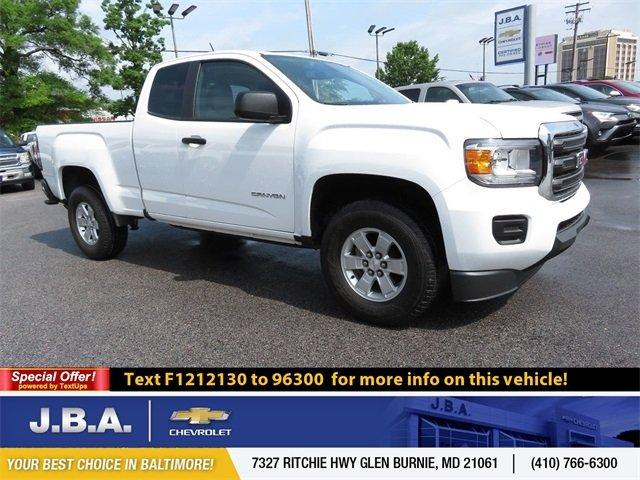 Used 2015 GMC Canyon 2WD Extended Cab Glen Burnie, MD