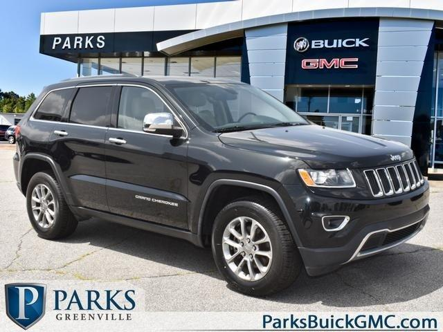 Used 2015 Jeep Grand Cherokee 4WD Limited GREENVILLE,