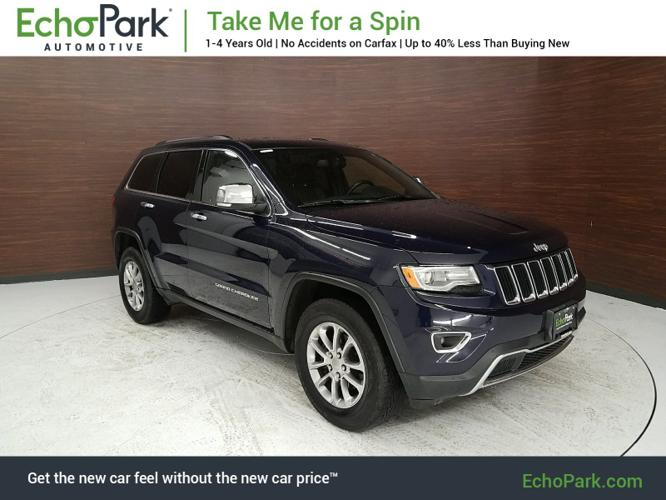 Used 2015 Jeep Grand Cherokee 4WD Limited Thornton, CO