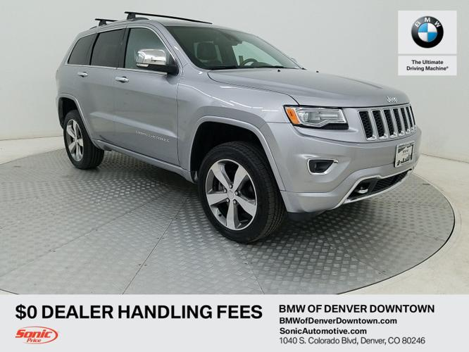 Used 2015 Jeep Grand Cherokee 4WD Overland Denver, CO
