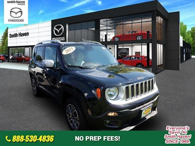 Used 2015 Jeep Renegade 4WD Limited St. James, NY 11780