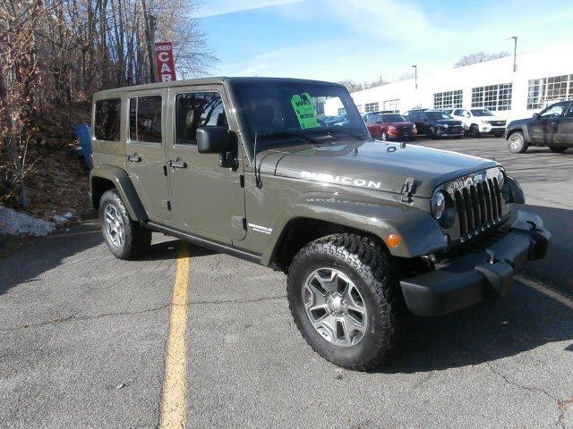 Used 2015 Jeep Wrangler 4WD Unlimited Rubicon