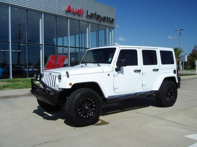 Used 2015 Jeep Wrangler 4WD Unlimited Sahara LAFAYETTE,