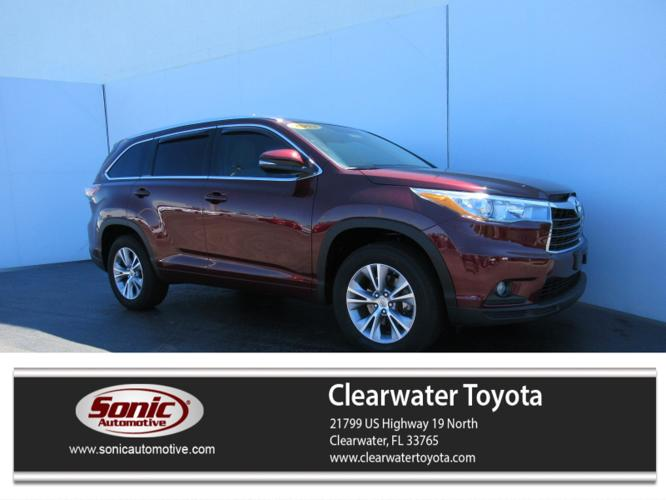 Used 2015 Toyota Highlander FWD XLE V6 Clearwater, FL