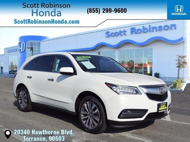 Used 2016 Acura MDX SH-AWD w/ Technology Package