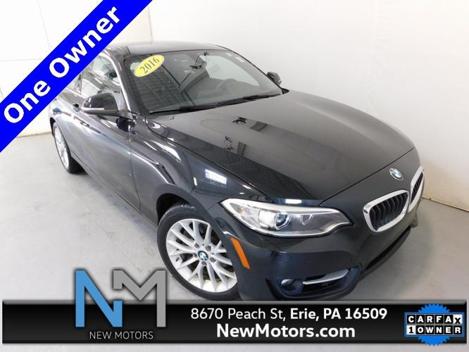 Used 2016 BMW 228i xDrive Coupe Erie, PA 16509