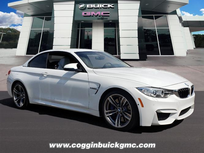 Used 2016 BMW M4 Convertible Jacksonville, FL 32244