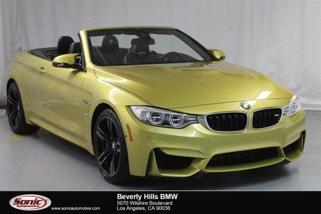 Used 2016 BMW M4 Convertible Los Angeles, CA 90036