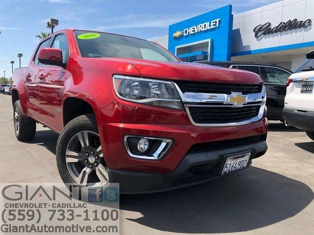 Used 2016 Chevrolet Colorado 2WD Crew Cab LT VISALIA,