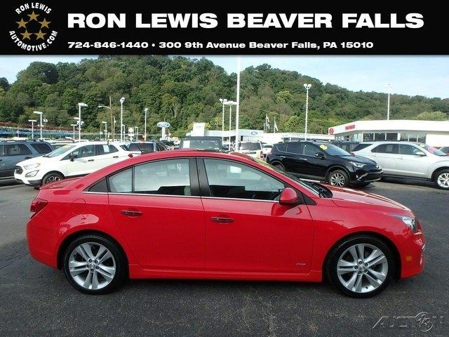 Used 2016 Chevrolet Cruze Limited LTZ Sedan BEAVER