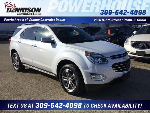 used 2016 chevrolet equinox fwd ltz pekin, il 61554 for sale in marquette heights, illinois classified americanlisted.com