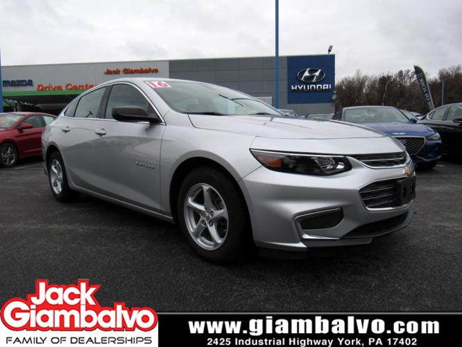 Used 2016 Chevrolet Malibu LS YORK, PA 17402