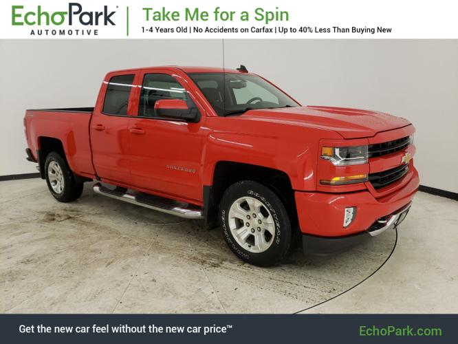 Used 2016 Chevrolet Silverado 1500 4x4 Double Cab LT
