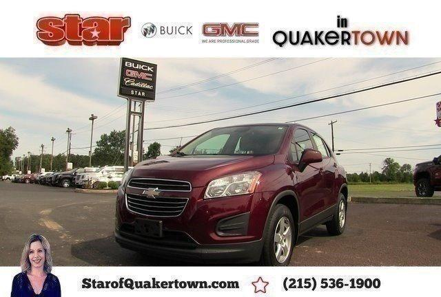 Used 2016 Chevrolet Trax AWD LS Quakertown, PA 18951
