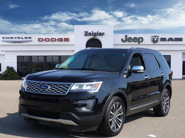Used 2016 Ford Explorer 4WD Platinum PLAINWELL, MI