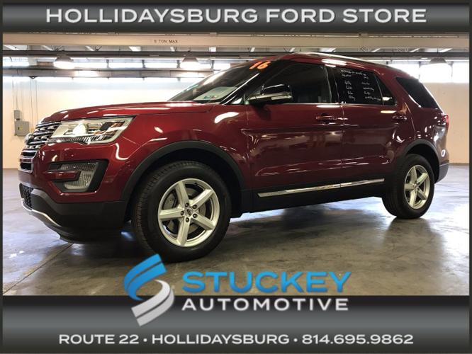 Used 2016 Ford Explorer 4WD XLT Hollidaysburg, PA 16648