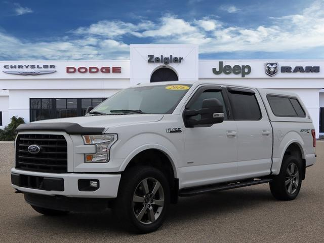 Used 2016 Ford F150 XLT PLAINWELL, MI 49080