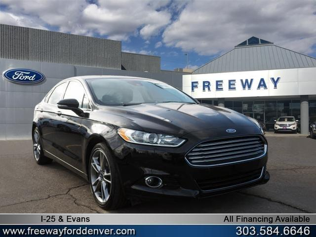 Used 2016 Ford Fusion Titanium AWD Denver, CO 80222