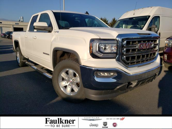 Used 2016 GMC Sierra 1500 4x4 Double Cab SLE