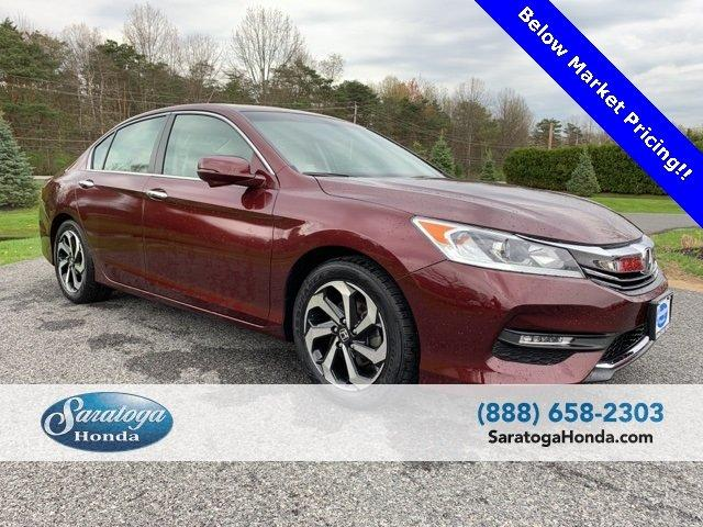 Used 2016 Honda Accord EX Sedan Saratoga Springs, NY
