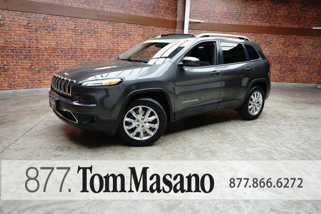 Used 2016 Jeep Cherokee 4WD Limited Reading, PA 19611