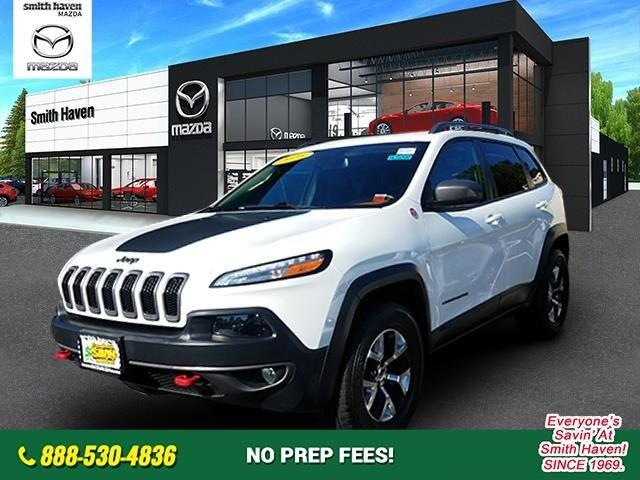 Used 2016 Jeep Cherokee 4WD Trailhawk St. James, NY