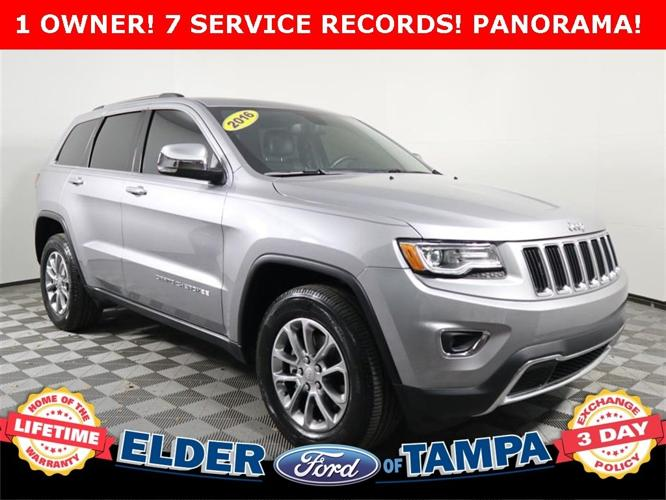 Used 2016 Jeep Grand Cherokee 2WD Limited Tampa, FL