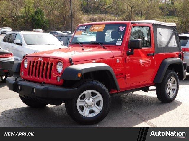 Used 2016 Jeep Wrangler 4WD Sport Fremont, CA 94538