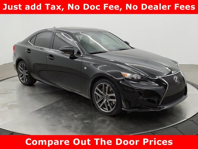 Used 2016 Lexus IS 350 AWD Tuscumbia, AL 35674