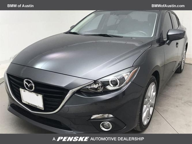 Used 2016 MAZDA MAZDA3 s Touring Sedan Austin, TX 78729