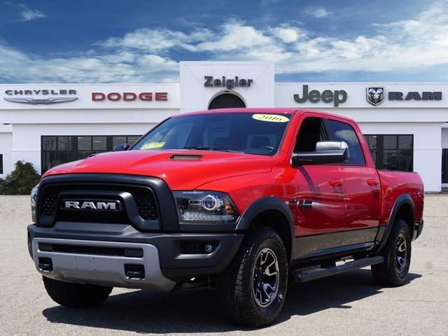 Used 2016 RAM 1500 4x4 Crew Cab Rebel PLAINWELL, MI