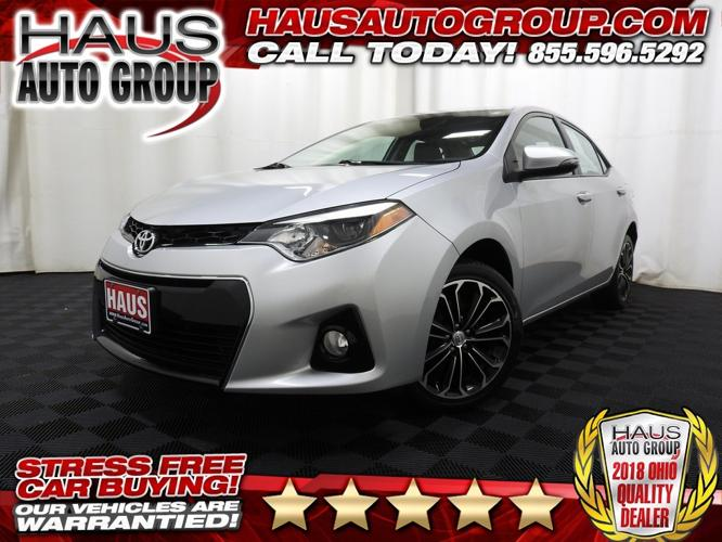 Used 2016 Toyota Corolla S Canfield, OH 44512