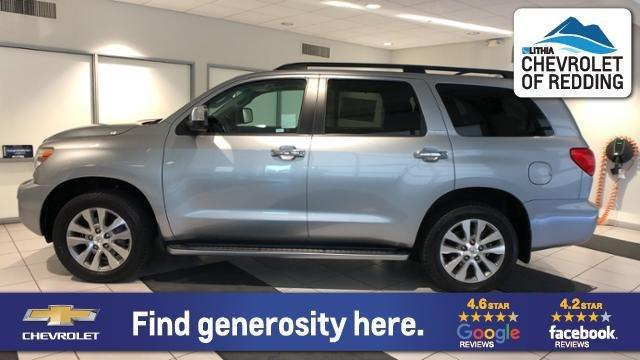 Used 2016 Toyota Sequoia 4WD Limited Redding, CA 96002