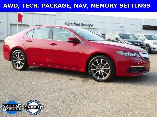 Used 2017 Acura TLX V6 SH-AWD w/ Technology Pkg