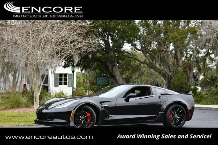 Used 2017 Chevrolet Corvette Z06 Coupe w/ 3LZ Sarasota,