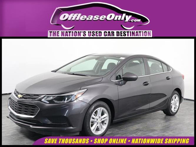 Used 2017 Chevrolet Cruze LT Sedan ORLANDO, FL 32822