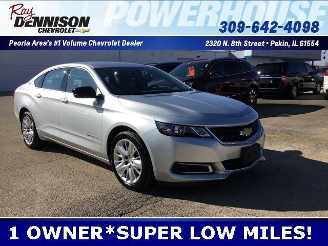 used 2017 chevrolet impala ls w 1ls pekin, il 61554 for sale in marquette heights, illinois classified americanlisted.com