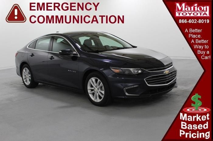 used 2017 chevrolet malibu lt w 1lt marion, il 62959 for sale in marion, illinois classified americanlisted.com