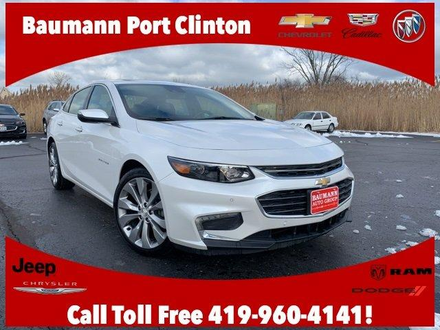 used 2017 chevrolet malibu premier w 2lz port clinton, oh 43452 for sale in middle bass, ohio classified americanlisted.com