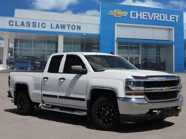 Used 2017 Chevrolet Silverado 1500 Double Cab LS