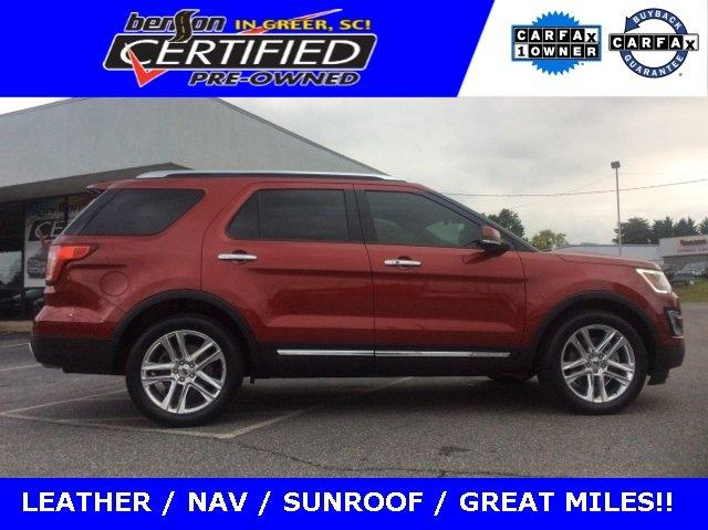 Used 2017 Ford Explorer 4WD Limited GREER, SC 29652