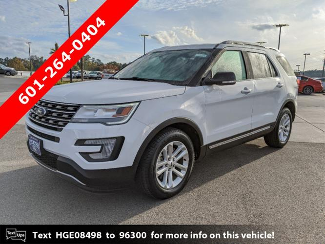 Used 2017 Ford Explorer FWD XLT Hattiesburg, MS 39402