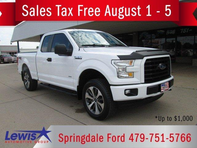 Used 2017 Ford F150 4x4 SuperCab Fayetteville, AR 72703