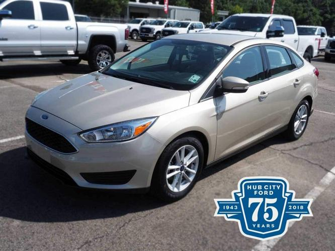 Used 2017 Ford Focus SE Sedan Lafayette, LA 70509