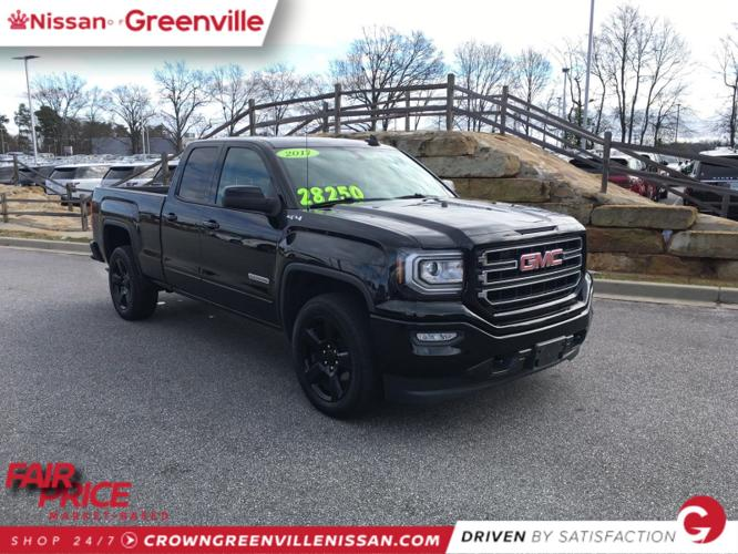 Used 2017 GMC Sierra 1500 4x4 Double Cab Greenville, SC