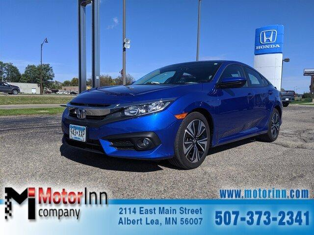 Used 2017 Honda Civic EX-T Sedan Albert Lea, MN 56007