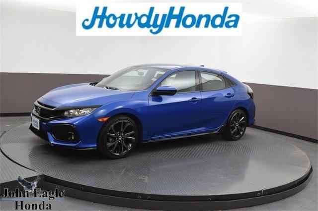 Used 2017 Honda Civic Sport Hatchback DALLAS, TX 75209