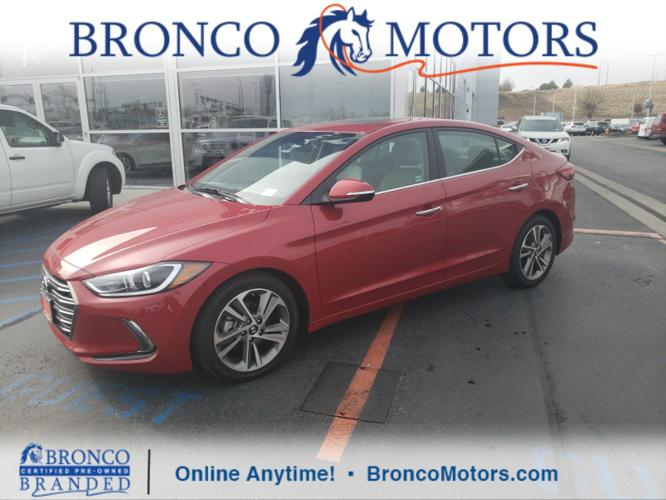Used 2017 Hyundai Elantra Limited Sedan Boise, ID 83702
