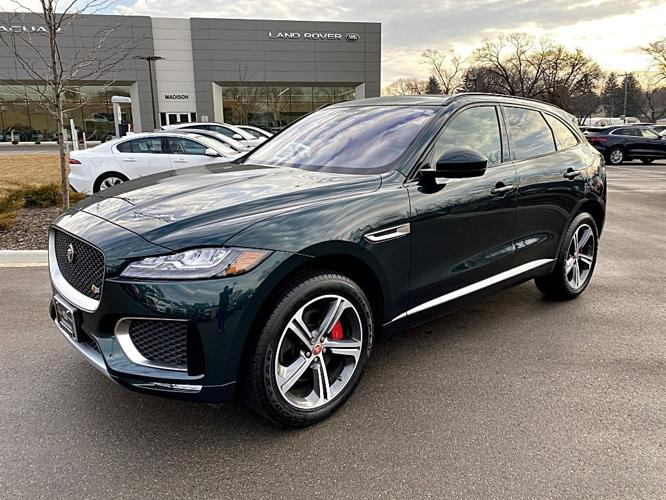 Used 2017 Jaguar F-PACE S Madison, WI 53713