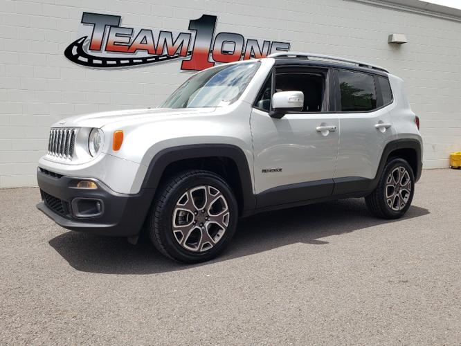 Used 2017 Jeep Renegade 4WD Limited RAINBOW CITY, AL